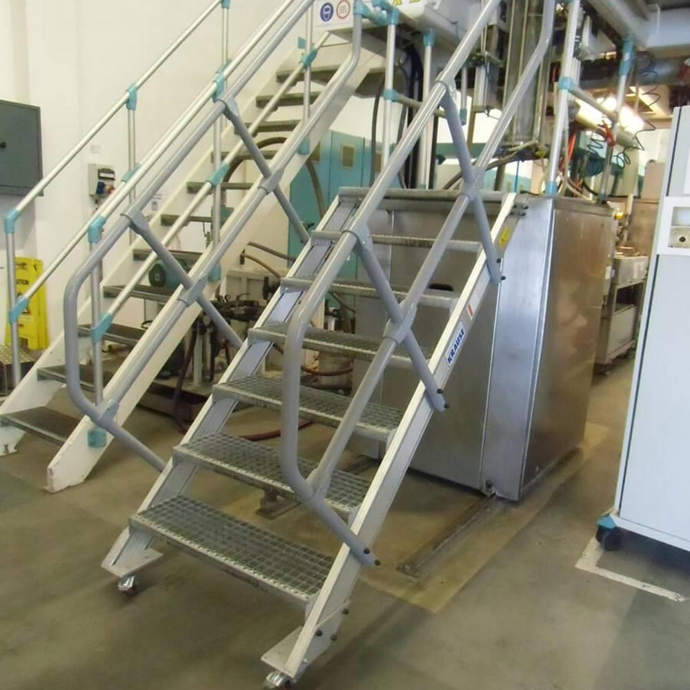 Treppen als Maschinenzugang