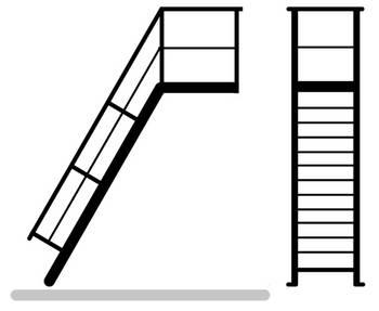 Download Anfrageformular zur Treppe mit Plattform