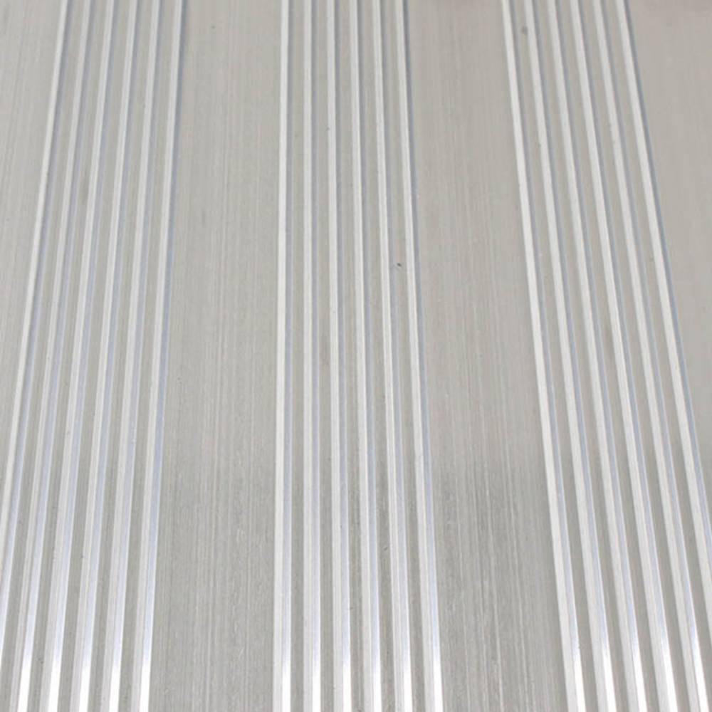 Aluminium gerieft