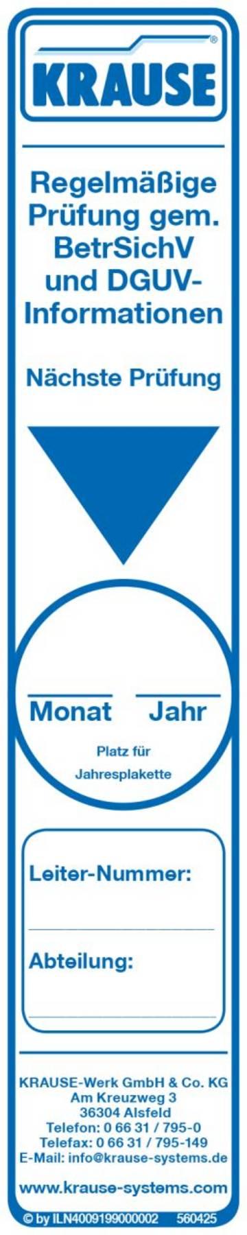 Zur Kennzeichnung durchgeführter Prüfungen.
