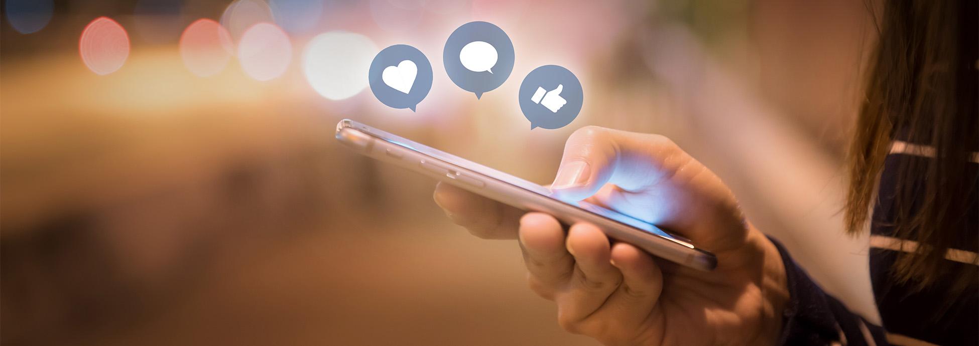 Eine Übersicht über unsere Social-Media-Kanäle