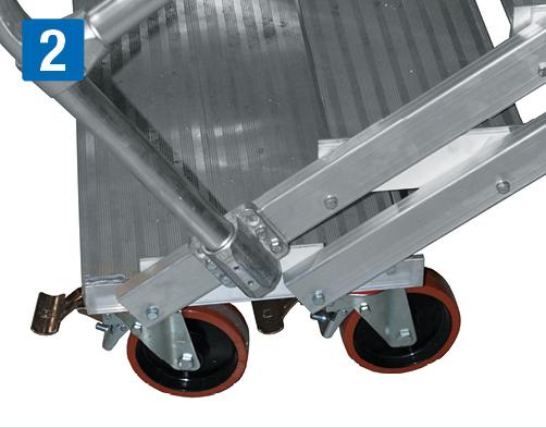 fahrbare Dacharbeitsbühne – Doppelrolle