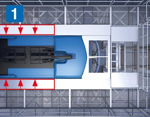 höhenverstellbare Seitenarbeitsbühnen – Teleskopierbare Plattformanpassung
